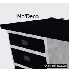 Mo'Deco - Decorative Mod For Minecraft 1.12.2
