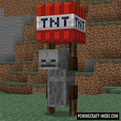TNT Yeeter - New Monster Mob Mod For MC 1.16.5, 1.16.4