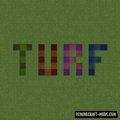 Turf - New Decorative Blocks Mod For MC 1.16.5, 1.16.4, 1.14.4