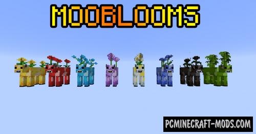 Mooblooms - New Mobs Mod For Minecraft 1.16.5, 1.16.4