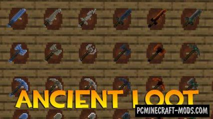 Ancient Loot Data Pack For Minecraft 1.14.4, 1.14