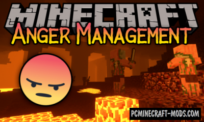 Anger Management - Hardcore Mod For MC 1.15.2, 1.14.4