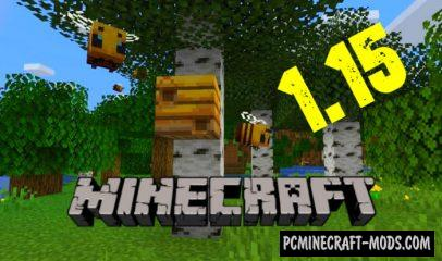 Download Minecraft 1.15.2, 1.15.1, v1.15.0 Buzzy Bees Update free version
