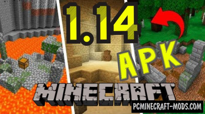 Download Minecraft 1.14.4 Buzzy Bees Update, v1.14.4.2 Apk Free