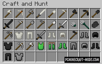 Craft and Hunt - Farming Mod For Minecraft 1.16.3, 1.15.2