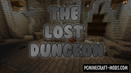 The Lost Dungeon Map For Minecraft