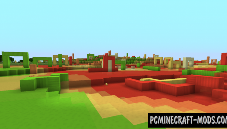 Candy World - New Dimension Mod For Minecraft 1.12.2