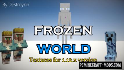 Frozen World 16x16 Resource Pack For Minecraft 1.12.2