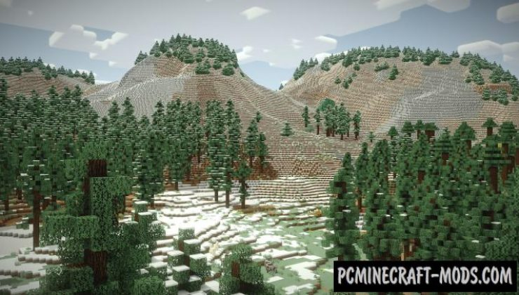 Vanilla Vistas - Realistic Biomes Mod For Minecraft 1.12.2