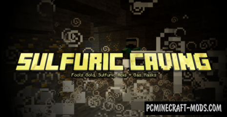 Sulfuric Caving Data Pack For Minecraft 1.14.4, 1.14