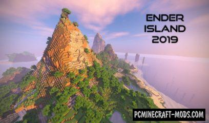 Ender Island Map For Minecraft