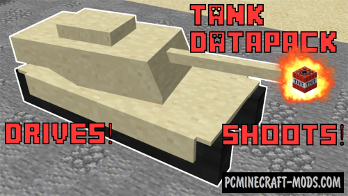 Working Tank - Vehicle Data Pack For Minecraft 1.14.4, 1.14