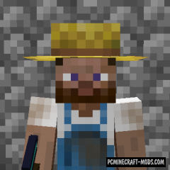 Villager Hats - New Decor Armor Mod For MC 1.16.4, 1.15.2