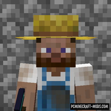 Villager Hats - New Decor Armor Mod For Minecraft 1.14.4