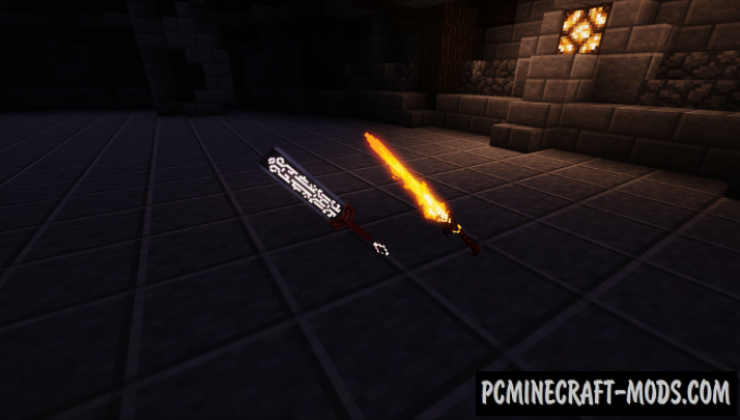 3d Fantasy Weapons 16x Texture Pack For Minecraft 1.15.2, 1.14.4