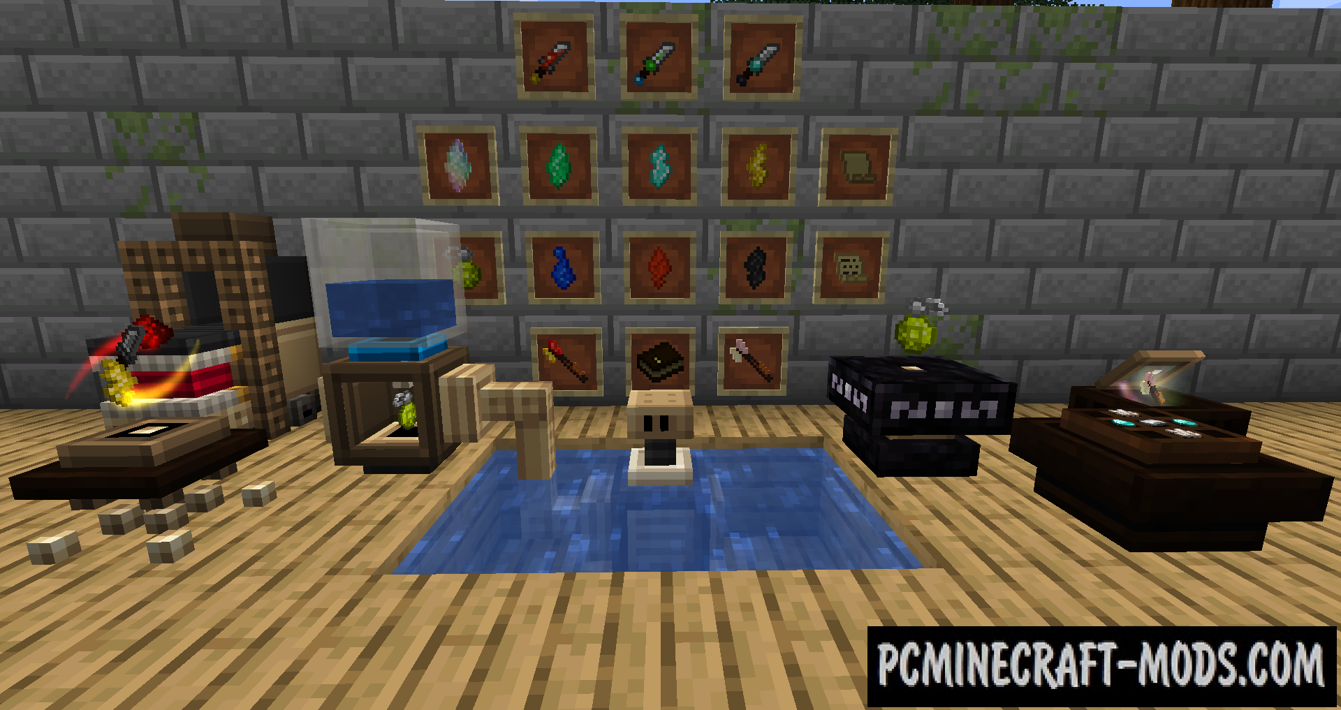 ArcaneMagic - Magic Weapons Mod For Minecraft 1.14.4