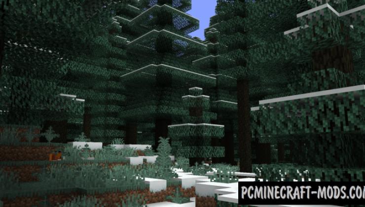 Terrestria - Realistic Biomes Mod For Minecraft 1.16.5, 1.16.4