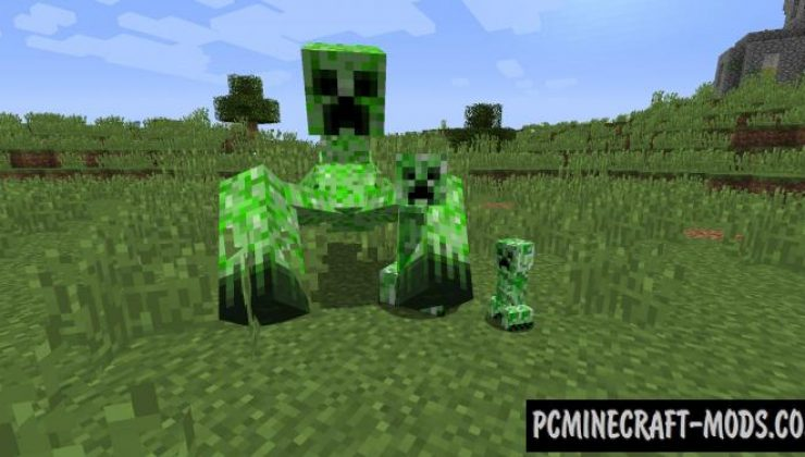 Mutant Beasts - New Monster Mobs Mod MC 1.16.3, 1.15.2