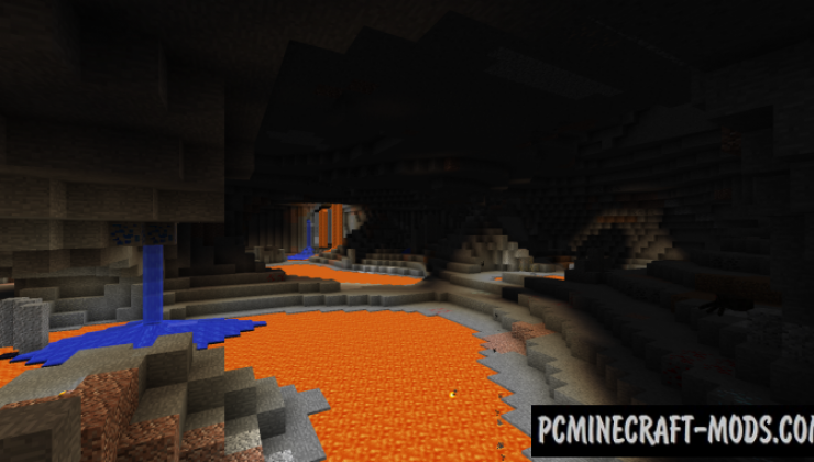 YUNG's Better Caves - New Biomes Mod For Minecraft 1.12.2