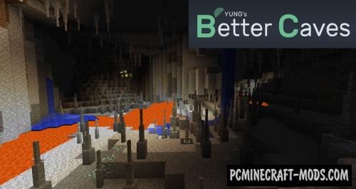YUNG's Better Caves - New Biomes Mod MC 1.17, 1.16.5, 1.12.2