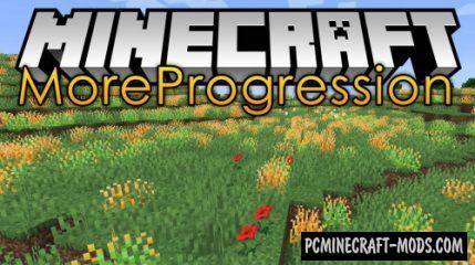 More Progression - New Biomes Mod For Minecraft 1.14.4