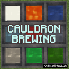Cauldron Brewing - Food Cooker Mod For Minecraft 1.14.4