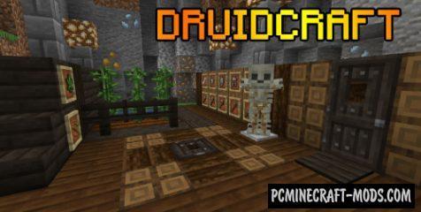 Druidcraft - New Armor, Blocks, Tools Mod For Minecraft 1.14.4