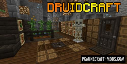 Druidcraft - New Armor, Blocks, Tools Mod For MC 1.14.4