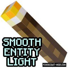 Smooth Entity Light - Realistic Light Mod For Minecraft 1.12.2