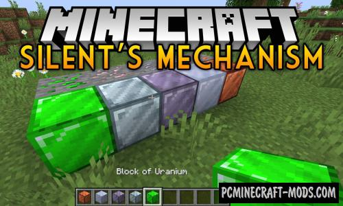 Silent's Mechanisms - Technology Mod For MC 1.16.5, 1.16.4