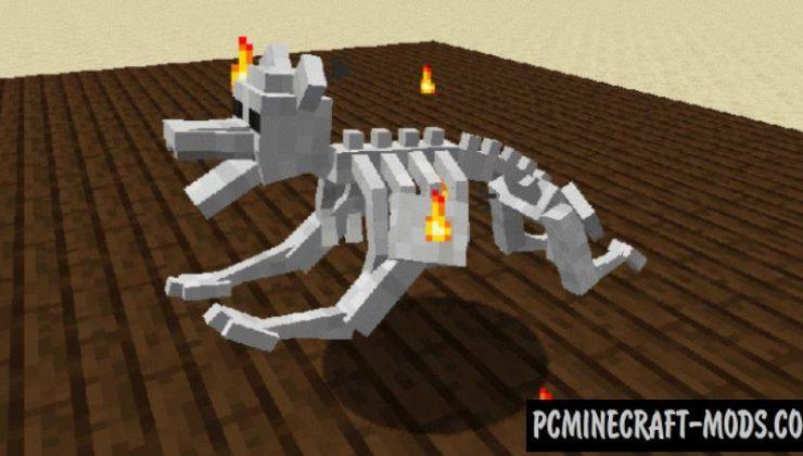 Pandoras Creatures - New Mobs Mod For MC 1.16.5, 1.14.4