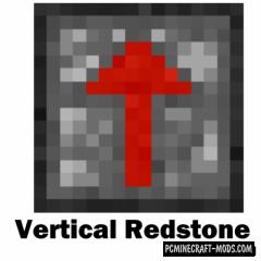 Vertical Redstone - New Tech Blocks Mod MC 1.15, 1.14.4