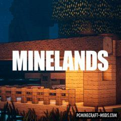 Minelands Cartoon 128x128 Resource Pack For Minecraft 1.14.4