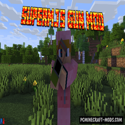 Supermj's - Gun Mod For Minecraft 1.12.2
