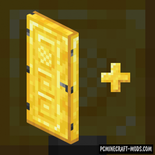 ExtraDoors - Decor Mod For Minecraft 1.16, 1.15.2