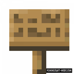 Better Signs - New Item Mod For Minecraft 1.16.2, 1.15.2, 1.14.4