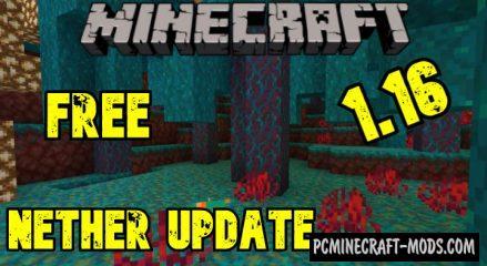 Download Minecraft 1.16.5, v1.16.201.01 Nether Update free version