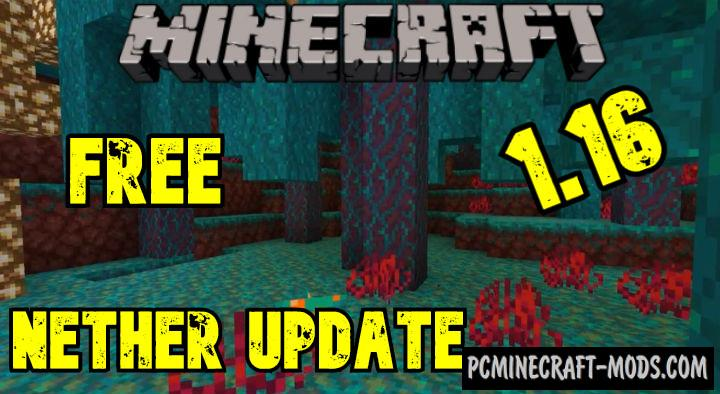 Download Minecraft 1.16.5, v1.16.201.01 Nether Update free version