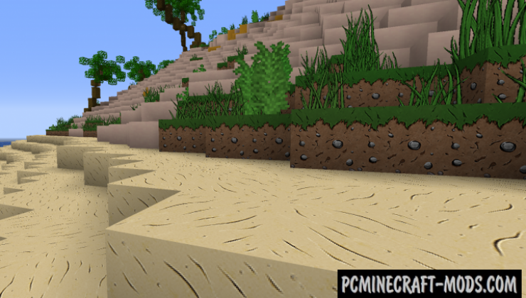 Minelands Cartoon 128x128 Resource Pack MC 1.15.2, 1.14.4