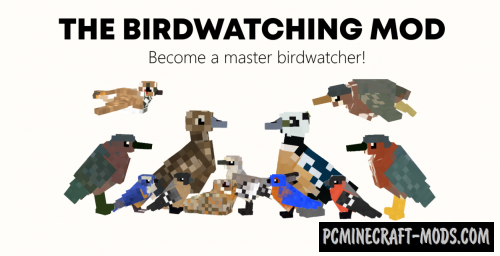 The Birdwatching - Creatures Mod For Minecraft 1.12.2