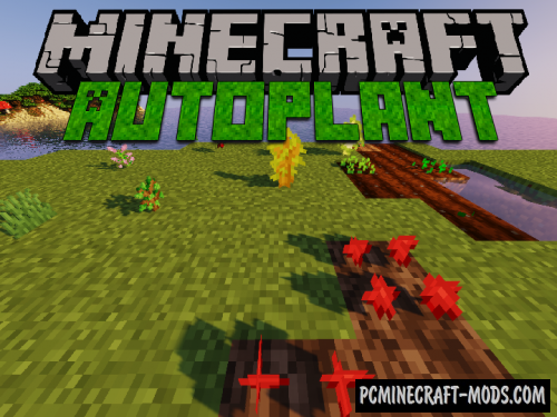 AutoPlant Data Pack For Minecraft 1.14.4, 1.14