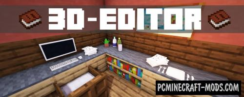 3D-Model-Editor Data Pack For Minecraft 1.14.4, 1.14