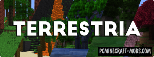 Terrestria - Realistic Biomes Mod For Minecraft 1.16, 1.15.2