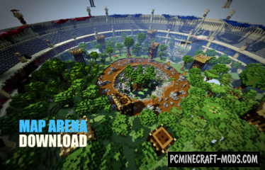 Arena PvP Coliseum Map For Minecraft