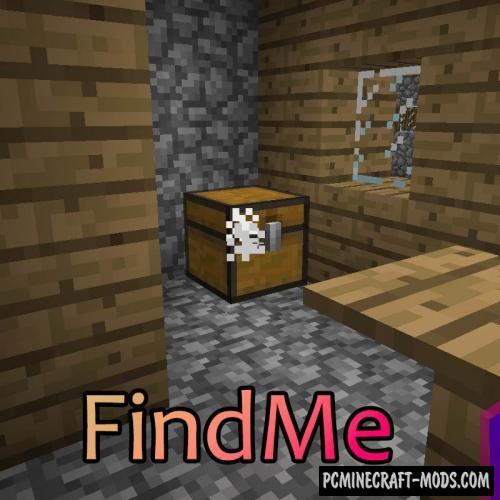 FindMe - Inventory Tweak Mod For Minecraft 1.16.3, 1.15.2