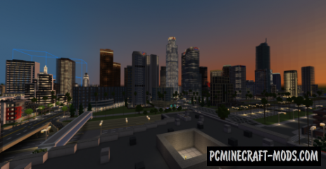 LA City Map For Minecraft
