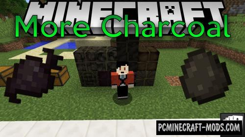 More Charcoal - Technology Mod For Minecraft 1.16.4, 1.12.2