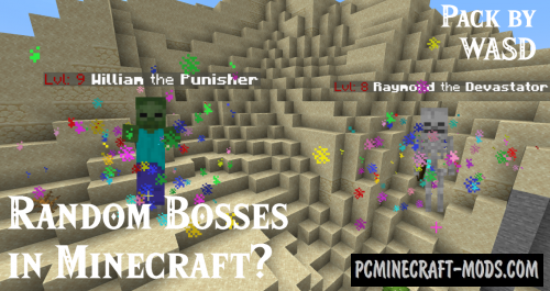 Random Bosses Data Pack For Minecraft 1.14.4