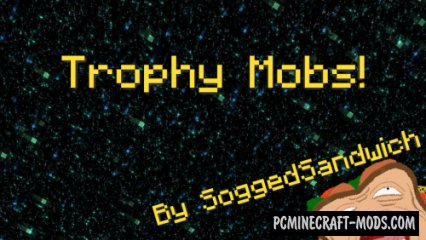 Trophy Mob/Statues! Data Pack For Minecraft 1.14.4, 1.14