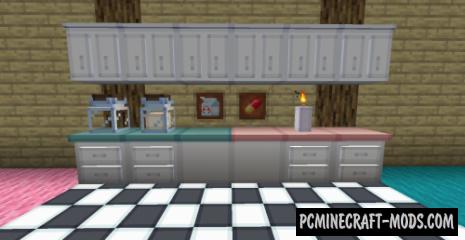 LittleLumps - Decor Mod For Minecraft 1.14.4